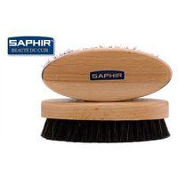 """Szczotka do butów """"oval"""" saphir ciemne włosie marki Saphir bdc"""