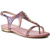 Sandały R.POLAŃSKI - 0826 Multicolor Różowy