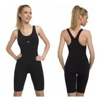 GWINNER Strój kąpielowy treningowy damski jednoczęściowy PBT (czarny) (GW10125/2), kolor czarny