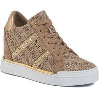 Guess Sneakersy - fayne2 fl5fy2 fal12 beige/brown