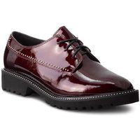 Oxfordy KAZAR - Bellona 34250-L0-06 Bordeaux, kolor czerwony