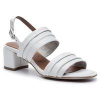 Sandały TAMARIS - 1-28386-22 White Leather 117, w 6 rozmiarach