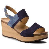 Sandały SCHOLL - Elara F27057 1040 370 Navy Blue, kolor niebieski