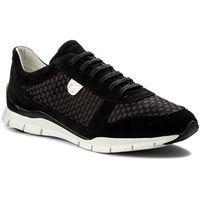 Sneakersy GEOX - D Sukie A D52F2A 0ZI22 C9999 Black, 1 rozmiar