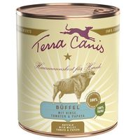 Terra Canis, 6 x 800 g - Wołowina z marchewką, jabłkiem i ryżem naturalnym (4260109620363)