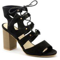 Sandały 52602 czarny, Sergio leone, 36-40