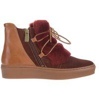 anne ankle boots czerwony brązowy 38 marki Gant