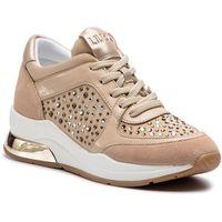 Sneakersy LIU JO - Karlie 12 B19007 TX003 Sand 01127, kolor beżowy