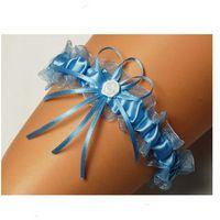Podwiązka Enjoy Ines uniwersalny, błękitny, Enjoy, kolor niebieski
