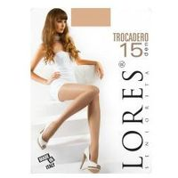 Rajstopy trocadero 15/20 den lycra , Lores