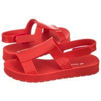 Sandały Zaxy Ever Sandal Fem 17368/90062 Czerwone (ZA56-b), kolor czerwony