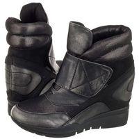 Sergio leone Sneakersy szare/srebrne 22395 (sl161-a)