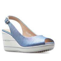 Sandały sk825-07t niebieskie, Sergio leone