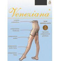 Veneziana Slim Modellante 20 • ROZMIAR: 5/XL • KOLOR: GRAFITTO, kolor szary