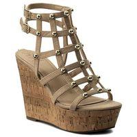 Sandały GUESS - Gizelle2 FLGZ21 ESU03 NATUR, w 7 rozmiarach