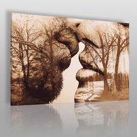 Vaku-dsgn Antologia intymności - nowoczesny obraz na płótnie