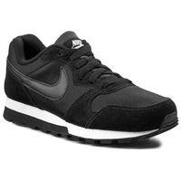 Buty NIKE - Wmns Nike Md Runner 2 749869 001 Black/Black/White