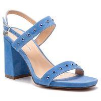 Sandały - 42305-01-i53/000-07-00 błękitny marki Solo femme