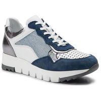 Sneakersy - 1553a niebieski/biały marki Simen