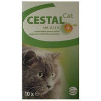 CESTAL Cat Flavour tabletki na odrobaczanie dla kotów 10szt./50szt.