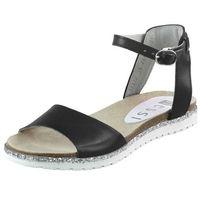 Sandały 17177 - czarne 11 marki Nessi