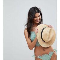Peek & Beau Lace Applique Bikini Bottom - Green, bikini