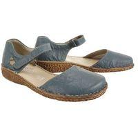 Rieker m0969-13 blue, półbuty/sandały damskie
