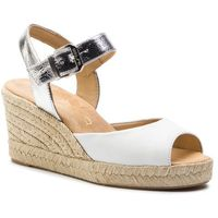 Espadryle - city sty mer white/silv softy marki Unisa