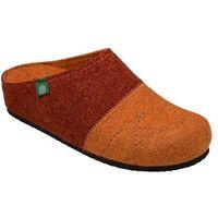 Kapcie Dr BRINKMANN 320454-62 RudyBrąz Pantofle domowe Ciapy zdrowotne - Brązowy ||Rudy ||Pomarańczowy, kolor brązowy