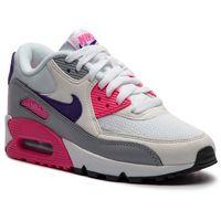 Buty - air max 90 325213 136 white/court purple/wolf grey marki Nike