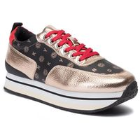 Dkny Sneakersy - poly k2907701 tmbld met pu met rose
