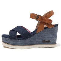 Wrangler sandały damskie Jeena Indigo Cross 36 niebieski (8057737911781)