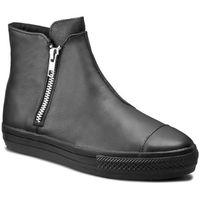 Sneakersy CONVERSE - Ctas High Line Premium Leather 553312C Black/Black/Black, kolor czarny