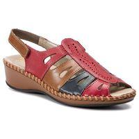 Sandały - n1676-33 rot kombi marki Rieker