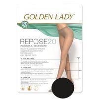 Golden lady Rajstopy repose 20 den rozmiar: 4-l, kolor: czarny/nero, golden lady