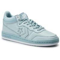 Sneakersy - fastbreak mid 160572c ocean bliss/ocean bliss/white marki Converse