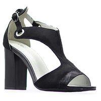 Sandały sa109-5 czarne, Jezzi