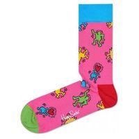 Happy socks dancing skarpetki różowy 36-40
