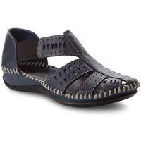 Sandały LANQIER - 38C0746 Granatowy, w 2 rozmiarach