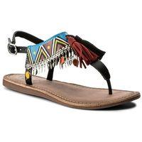Sandały GIOSEPPO - Taplai 40516 Black, kolor wielokolorowy
