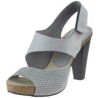 Sandały 42103 - szare 11 szare stampa marki Nessi