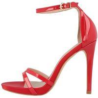 damskie sandały 41 czerwony, Roberto botella