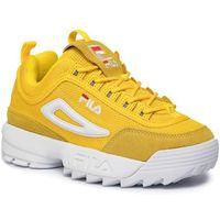Sneakersy FILA - Disruptor Mesh Low Wmn 1010606.60K Empire Yellow, kolor żółty