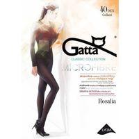 Rajstopy Gatta Rosalia 40 den 2-4 ROZMIAR: 2-S, KOLOR: hot lips/czerwony, Gatta, kolor czerwony