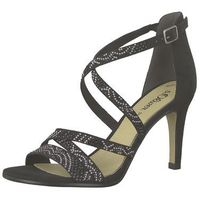 sandały z rzemykami czarny / srebrny marki S.oliver black label