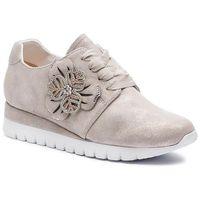 Sneakersy - 9-23700-22 beige shin.sue 417 marki Caprice