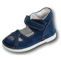 Adamki profilaktyczne buty wzór 017n-3 jeans