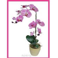STORCZYK kwiat w doniczce SZTUCZNE KWIATY ozdoba 90cm, 1705980957