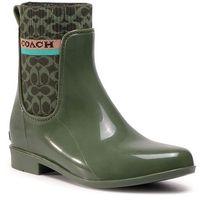 Kalosze COACH - Rivington Rain Booti G5254 10011291 Bronze Green R7H, 36.5-37.5
