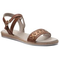 Sandały - 3154-905/s71 brąz/przecierany marki Edeo